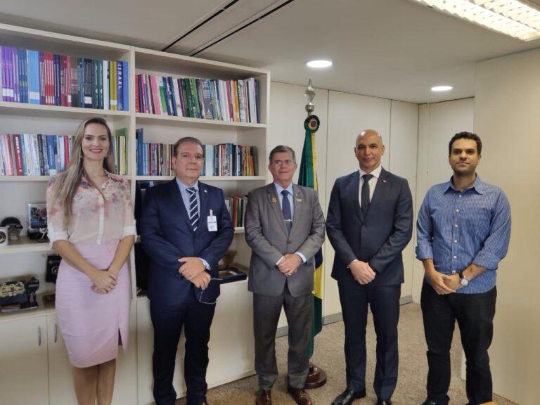 Presidente da Adepol do Brasil se reúne com Secretário Nacional de Segurança Pública